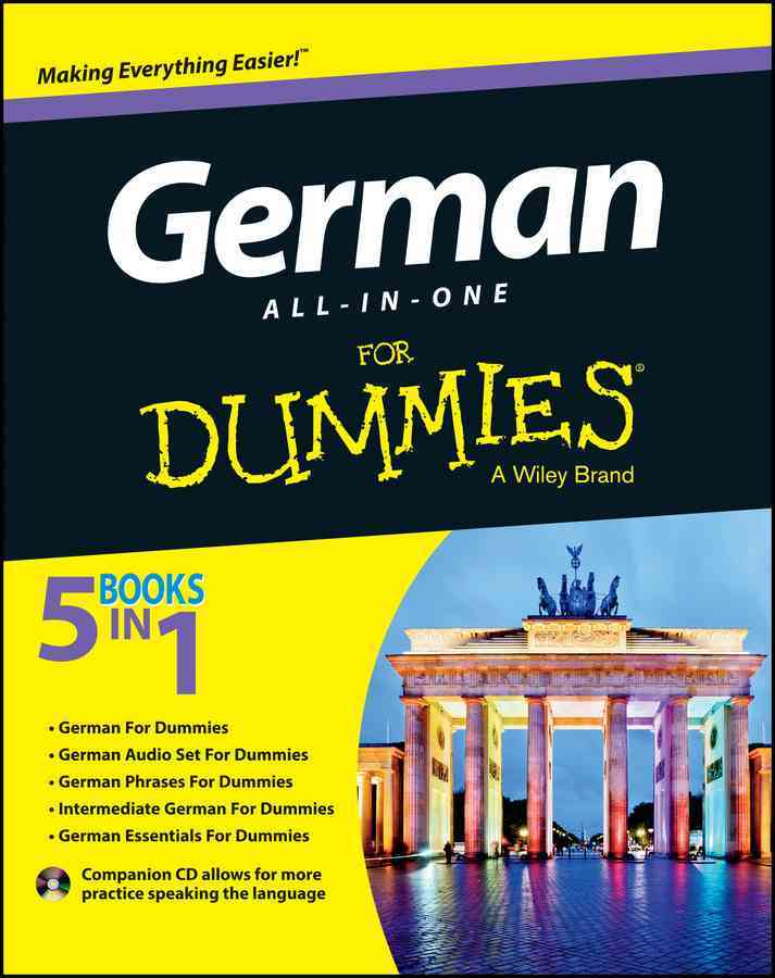 German All-in-One for Dummies By Consumer Dummies (COR)